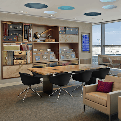 American Express LaGuardia Centurion Lounge Brand Experience