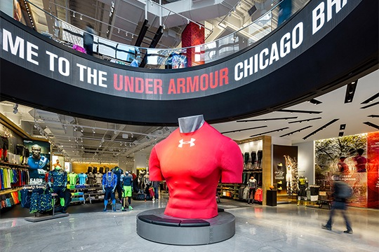 Under Armour   Big Red Rooster a JLL
